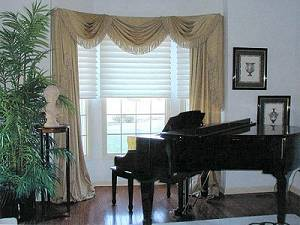 Custom Curtains and Window Treatments